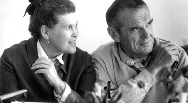 how charles and ray eames invented the mid century. Black Bedroom Furniture Sets. Home Design Ideas