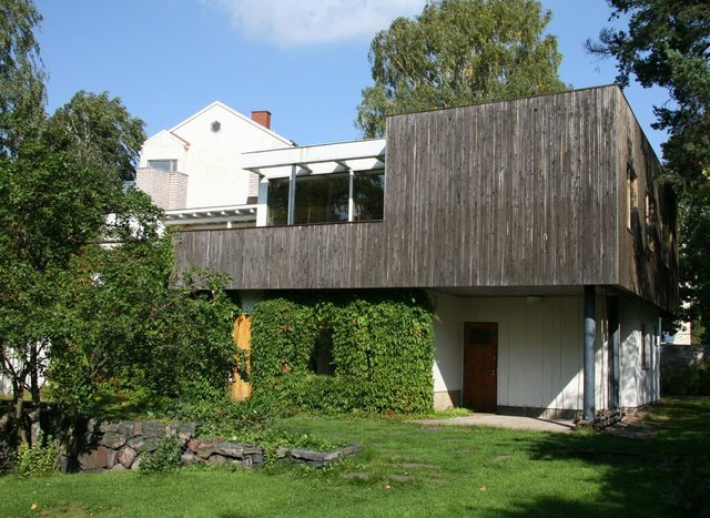 The First Alvar Aalto House And Studio