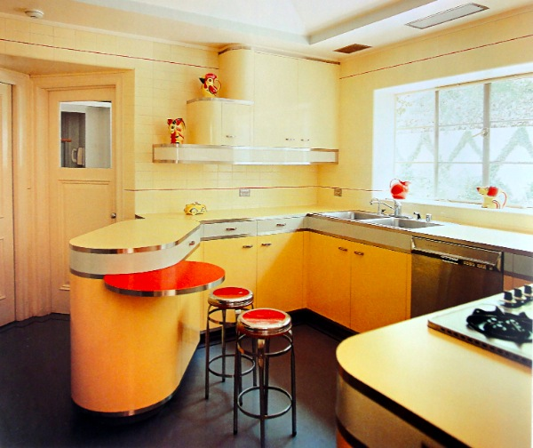 The Use Of Linoleum In The Mid Century Kitchen