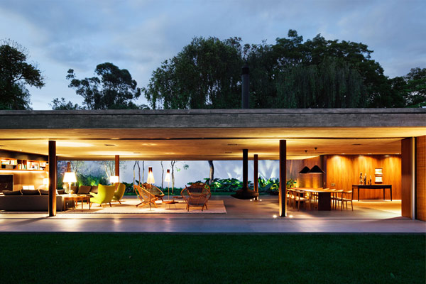 this house designed by the studio mk27 is another proof that modernist