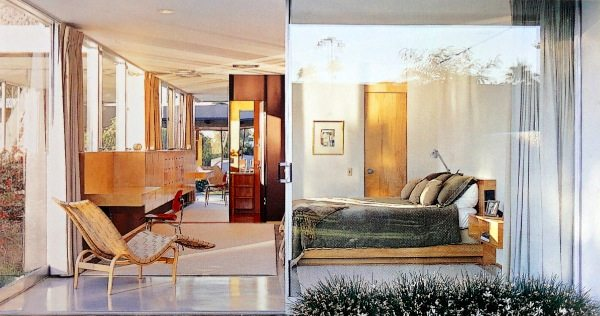 richard neutra kaufmann house - palm springs - living