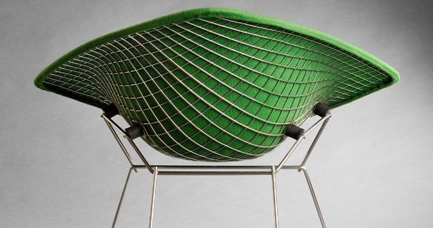 icons of mid century design the bertoia diamond chair. Black Bedroom Furniture Sets. Home Design Ideas
