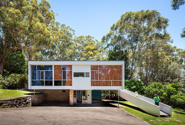 mid century modern australian homes - harry seidler - Rose House