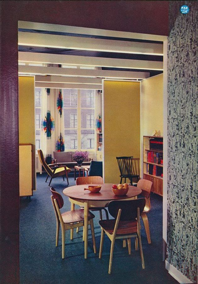 5 mid century modern dining areas for Interieur 1960