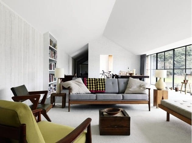 5 Mid Century Modern Seating Areas That We Love