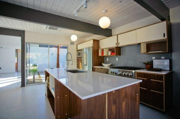 New Eichler Palm springs kitchen
