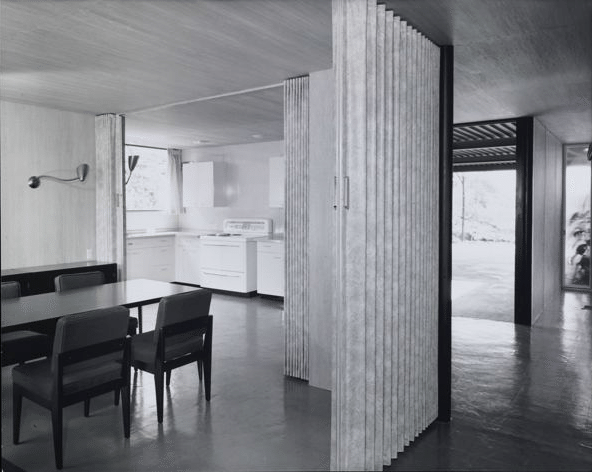 the case study house 1950 - dining room - raphael soriano