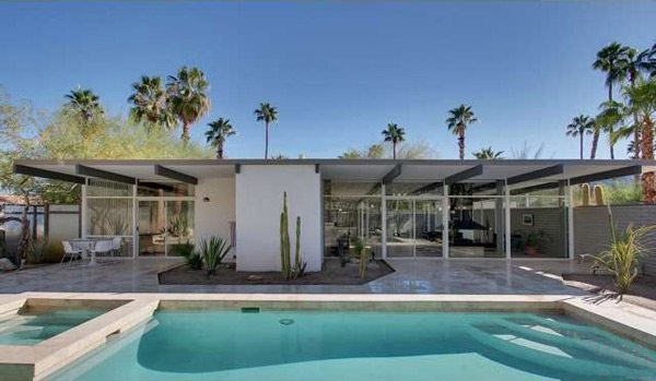 mid-century palm springs - Wexler and Harrison house