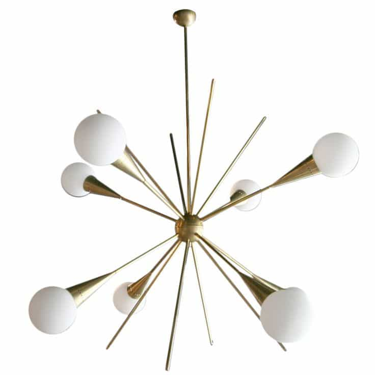 5 Sputnik Chandeliers That Will Light Up Your Day