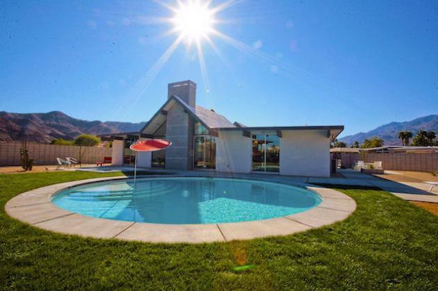 New Eichler Palm springs pool