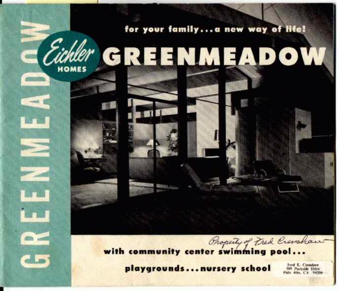 Greenmeadow eichler
