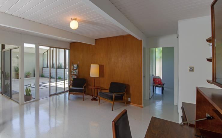 Eichler home - Orange County - Anshen and Allen - entrance