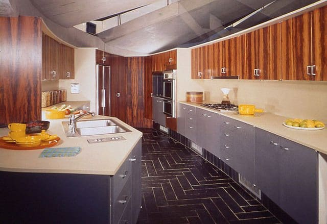 john lautner - elrod house - kitchen