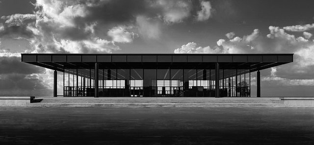 berlin 39 s neue nationalgalerie by mies van der rohe. Black Bedroom Furniture Sets. Home Design Ideas