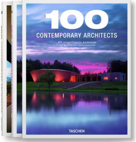 100 contemporary architects - taschen - book cover