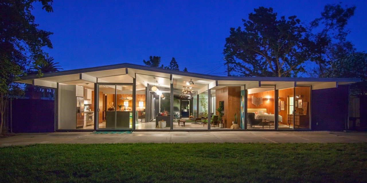 Before and After: Karen, John and their Eichler Home
