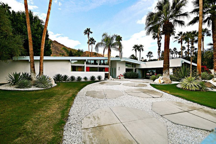 Palmer and Krisel - Las Palmas neighborhood Palm Springs - darren bradley