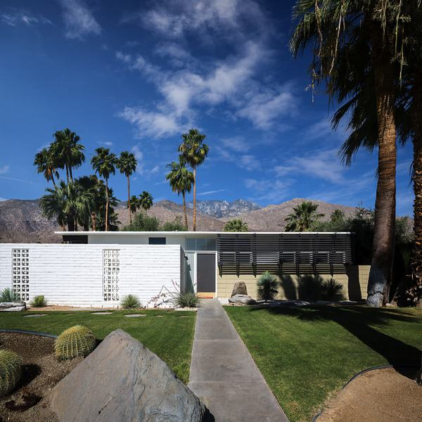 Twin Palms - Palmer and Krisel - Palm Springs - darren bradley - 1957