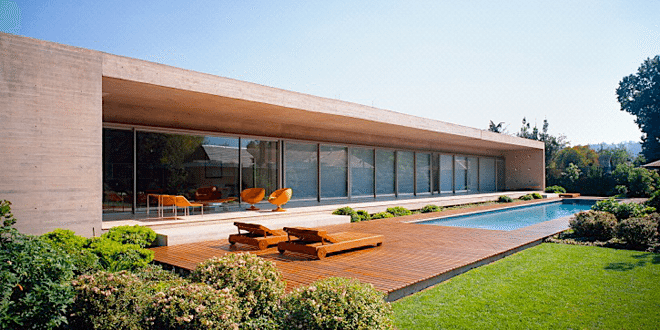 modernist house - chile - casa viejo - mathias klotz - exterior