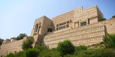 frank lloyd wright - ennis house