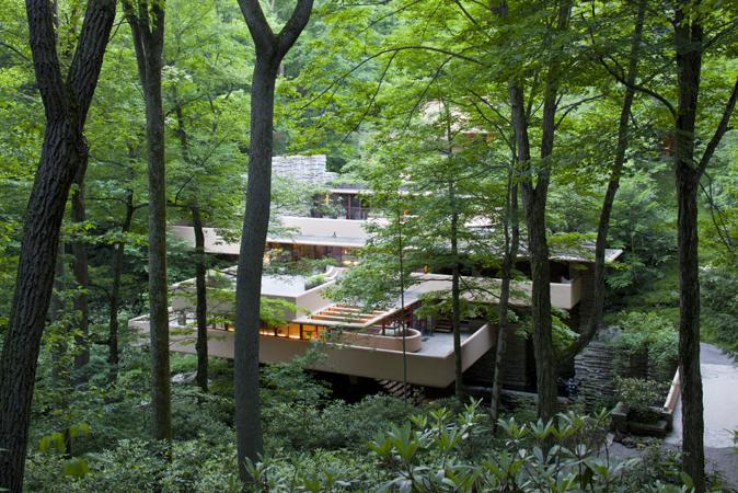 Waterfall House Architects49 House Design Limited: Frank Lloyd Wright's Masterpiece, Fallingwater