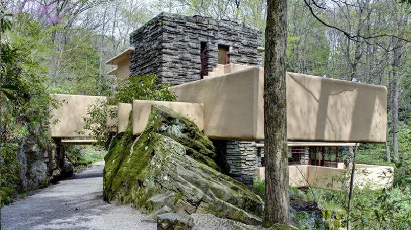 Frank lloyd wright 39 s masterpiece fallingwater for Frank lloyd wright parents