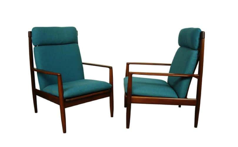 grete jalk - loung chairs