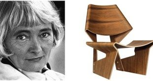 grete jalk - portrait and GJ chair