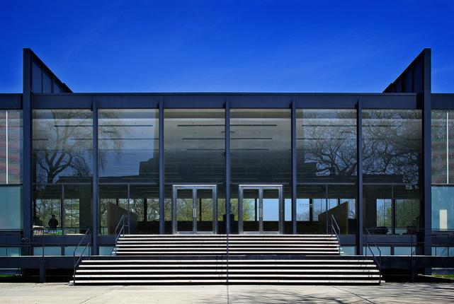 Mies van der Rohe's Crown Hall in Chicago, Illinois
