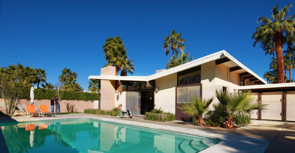 William krisel and dan palmer defining mid century modern for Twin palms estates palm springs