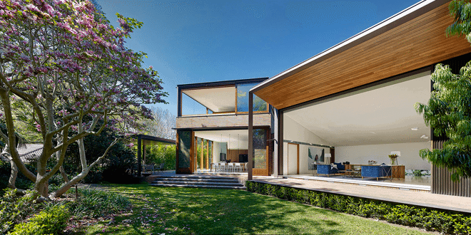 modern home in sydeny - woollahra-house - tzannes architects