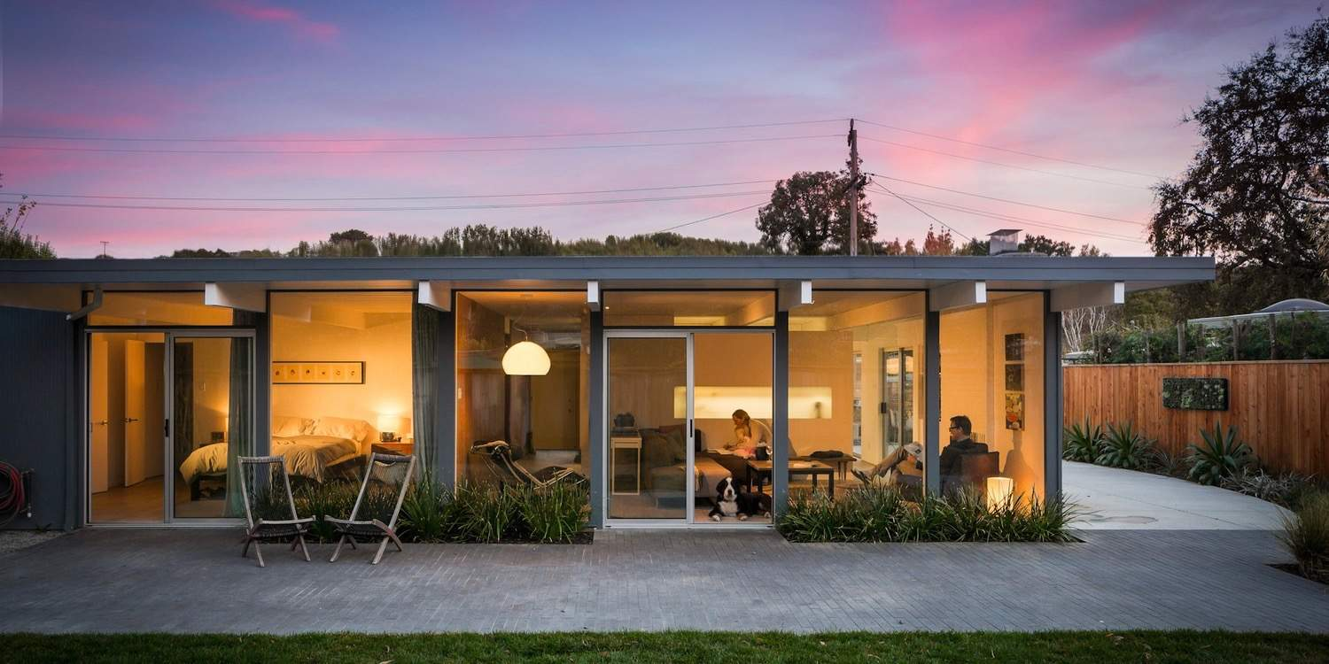 Building Lab architects renovate an Eichler in Marinwood, CA - Mid Century Home