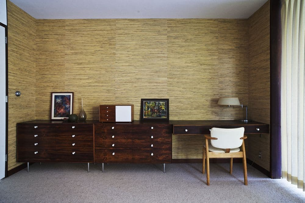 Herman Miller Furniture abounds in this George Nelson Home