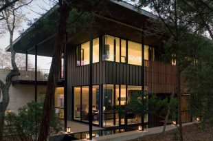 House in trees - Tim Cuppett Architects