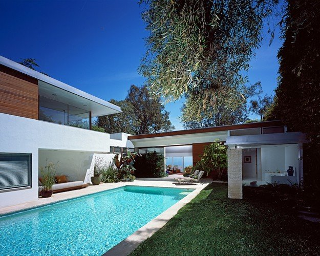Richard Neutra Freedman Residence Exterior Daylight Pool