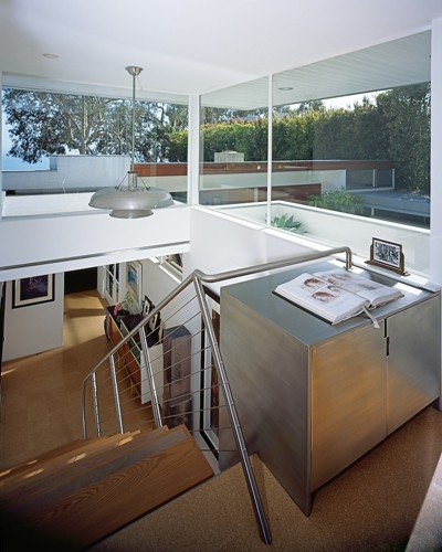Richard Neutra Freedman Residence Interior Stairs First Floor View