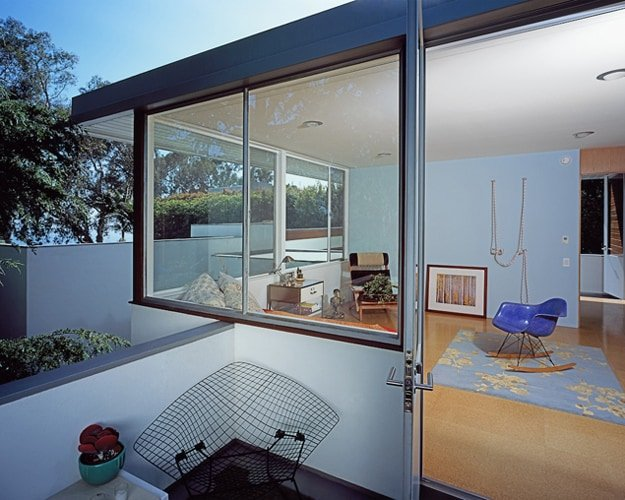 Richard Neutra Freedman Residence Upstairs Outside Terrace