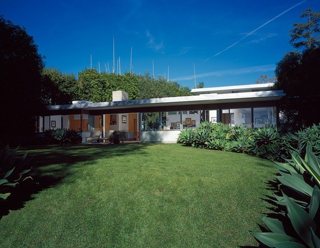 Richard Neutra Freedman Residence External Daylight Garden