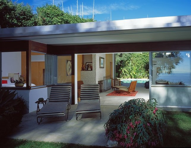 Richard Neutra Freedman Residence External Daylight Terrace