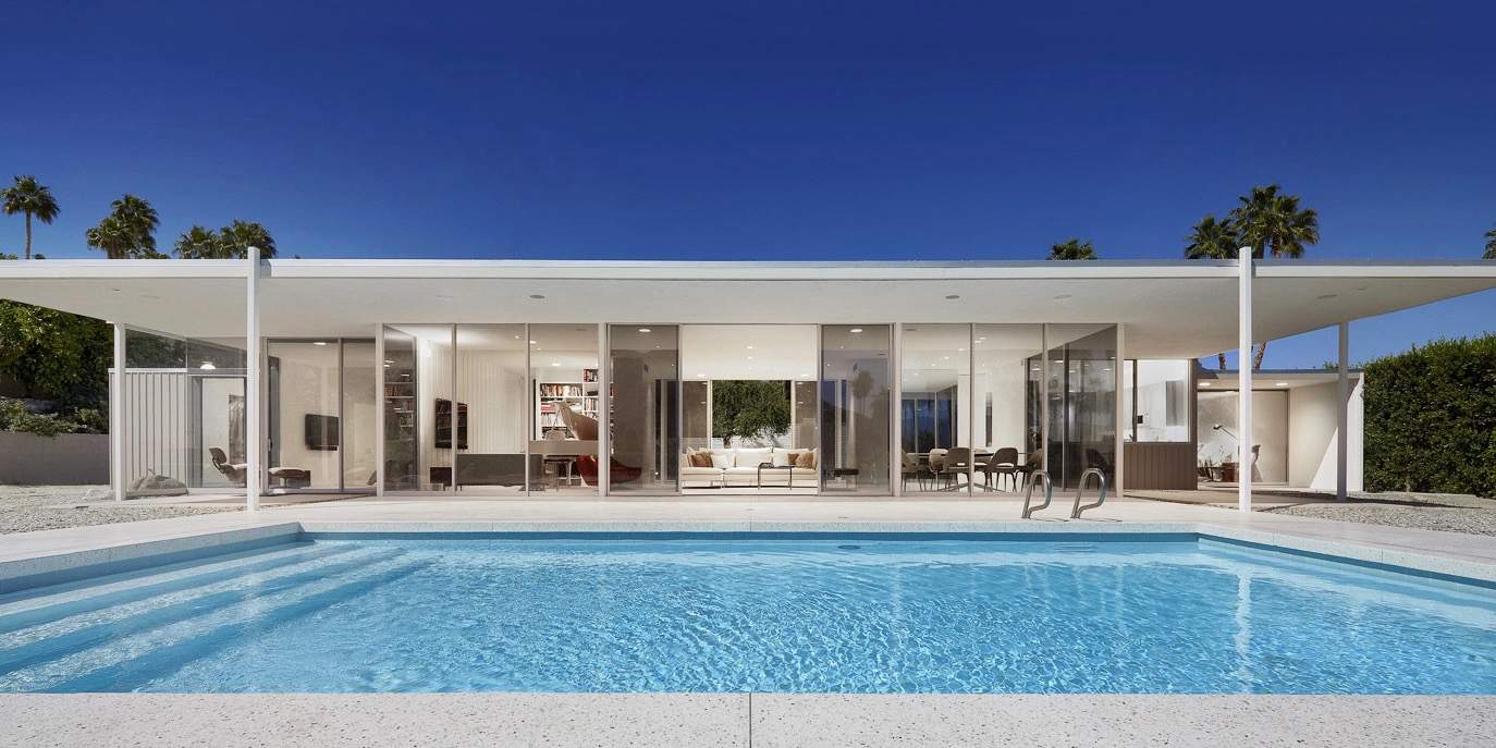 Seamless modernism in palm springs william f cody mid for Century home builders