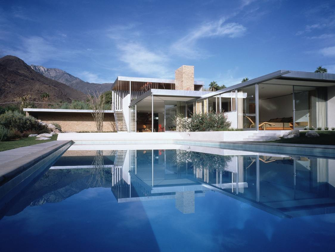 richard neutra kaufmann house - palm springs