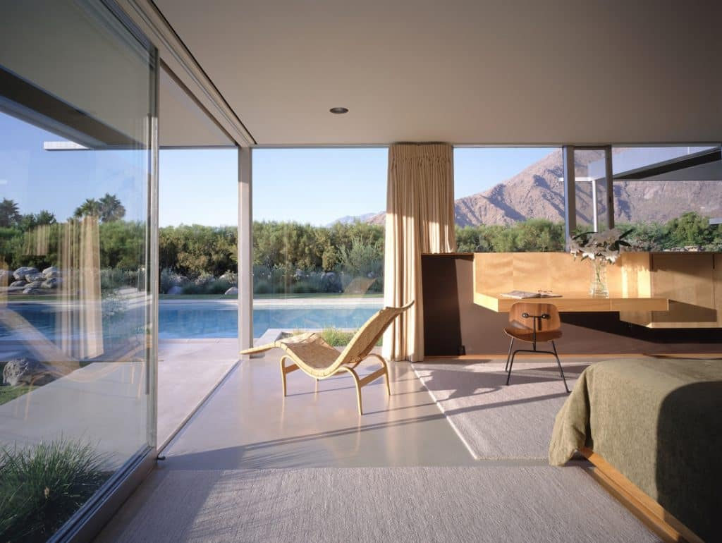 richard neutra kaufmann-house living