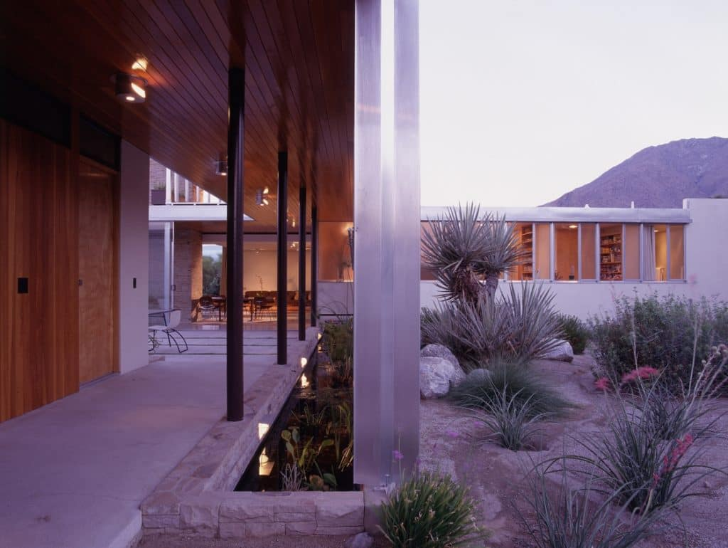 richard neutra kaufmann-house living exterior