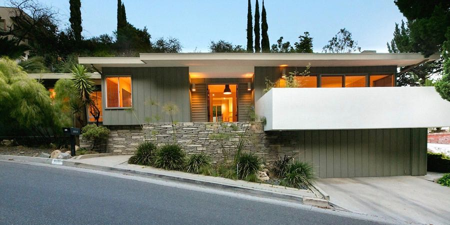 mid-century renovation in Beachwood Canyon_exterior