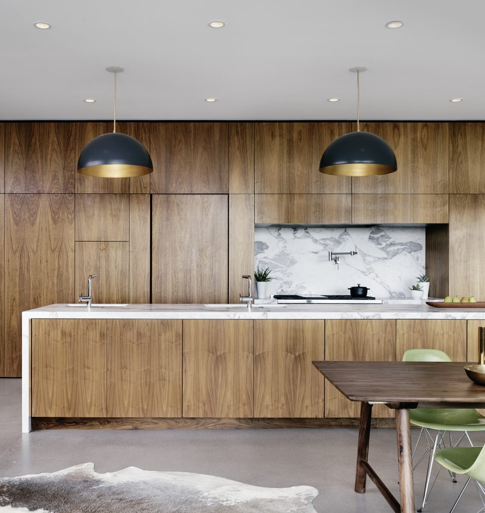 Franklin Mountain house - Hazelbaker Rush_kitchen
