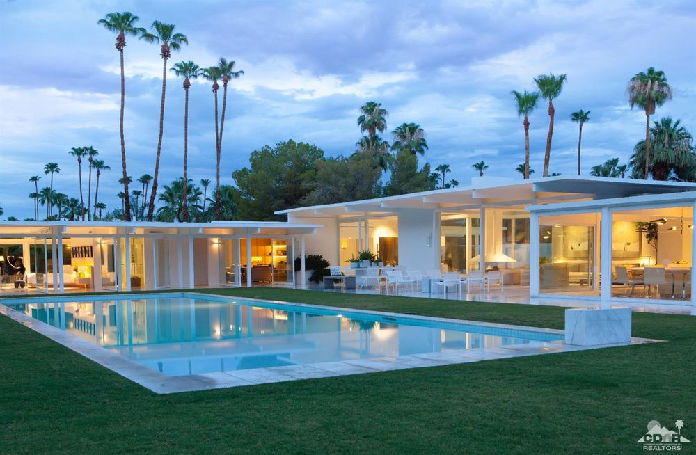 John Porter Palm Springs mid-century pool