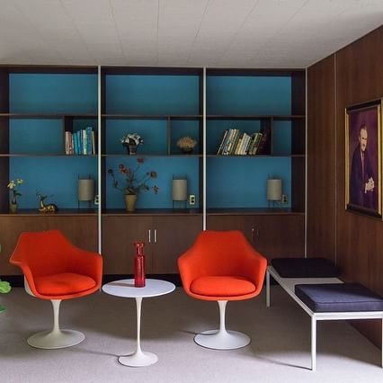 The Frost House - Paul McCobb - Knoll - living