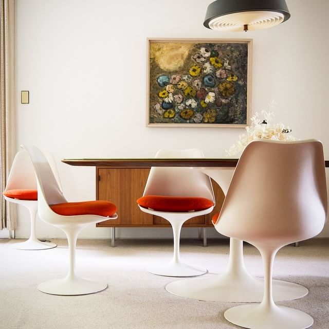 The Frost House - Paul McCobb - Knoll - dining area