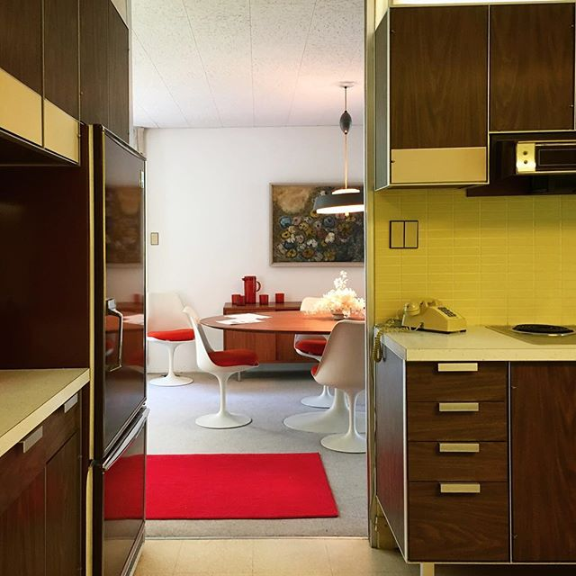 The Frost House - Paul McCobb - Knoll - kitchen
