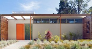 LMSA architects Case Study House inspired house - Vai Avenue Residnece exterior